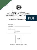 Form Magister Ikm