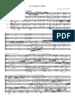 Le Cortège de Balkis blæserkvintet - Full Score