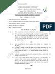 Fluid Mechanics and Machinery_UnitTest-03_2013_JD (B.E.-3rd Sem)