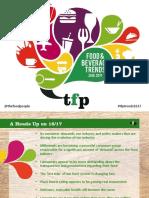 Food Beverage Trends the Food People 2016 2017