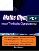 Maths Olympiad Advanced Training