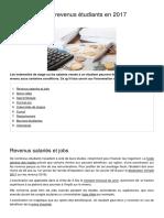 Exoneration Des Revenus Etudiants en 2017 14108 Ojnx49