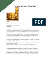 Análisis Literario Del Libro Popol