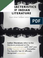 characteristics of indian literature