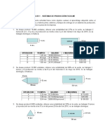 Taller 1 . Áreas de Productos, Salarios y Tiempo de Entrega