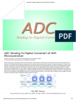 Using ADC (Analog to Digital Converter) of AVR Microcontroller