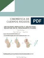 Cinemática de Cuerpos Rígidos