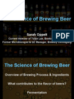 Sarah Oppelt Science of Brewing Beer PPT