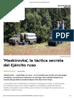 'Maskirovka', la táctica secreta del Ejército ruso.pdf