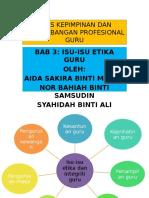 Tajuk 1asas Kepimpinan Dan Perkembangan Profesional Guru- Bahiah