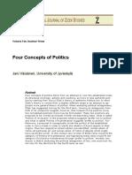 Four Concepts of Politics