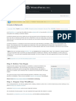 Wordpress Tutorial - Create_A_Network