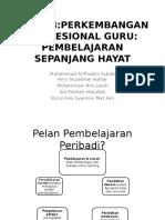 TAJUK 8 Perkembangan Profesional Perguruan Pembelajaran Sepanjang Hayat