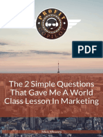 [BBHF VIP Guide] 2 Simple Questions That Gave Me a World Class Lesson in Marketing