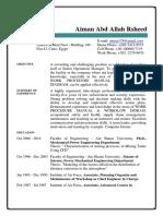 Resume Aiman 2016