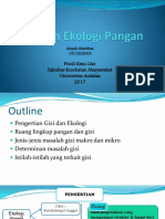 Gizi Dan Ekologi Pangan