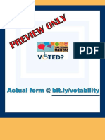 Preview Post-election Feedback Form for Indians With Disabilities - Google Forms