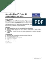 Aeroshell Fluid 41 Pds