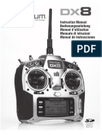 Spektrum Dx8 Manual