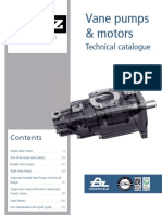 TDZ PUMPS Vane Pumps and Motors