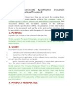 Software Requirements Specification Document Example (International Standard)
