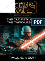Star Wars Insider 124 the Old Republic the Third Lesson by Paul s Kemp