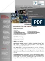 CGSC CNC Operator Turning