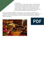 Qué Es La Cocina Tradicional Mexicana