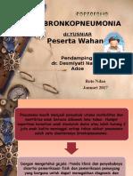 Bronkopneumonia PPt Portofolio