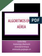 Algoritmos en via Aerea Carolina Vallejo