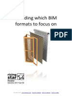 Deciding Which BIM Formats to Focus on-BIMstop