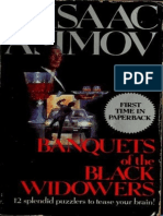 Isaac Asimov - Black Widowers 04 - Banquets of the Black Widowers
