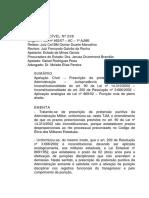 Apelação Cível 238 - TJMMG