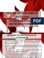 1. ECO 162-Introduction to Microeconomic