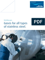 Shielding Gases for Stainless Steel 60785 1217 82204