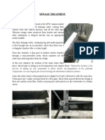 Sewage Treatment - Evs