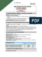 Tacrolimus Lib Retard Huva 0409