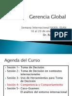 Gerencia Global Competencia y Comportamiento