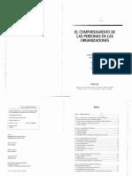 El Comportamiento de Las Personas en Las Organizaciones - Van Morlegan - Ayala