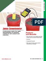 Cementometer Complete Data