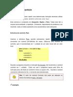 Lógica de Programação e Algoritmos - Estrutura de Repetição (1)