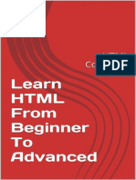 Learn HTML - From Beginner to a - Mahi Singh Rawat
