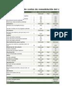 Calculadora de Los Costos de Remodelación
