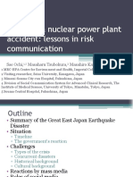 Presentation 6 Fukushima Nuclear Power Plant Accident Imperial College London Sae Ochi