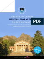 Uct Digital Marketing Course Information Pack