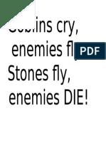 Goblin Cry