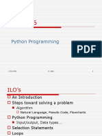Chapter4 Python Programming Selection