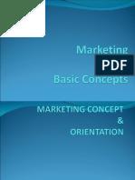 Basic Mkt Concepts