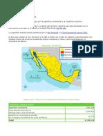Extensión de México y Curso de la Semarnat