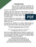 DIVISIBILIDAD Mcm Mcd Apuntes
